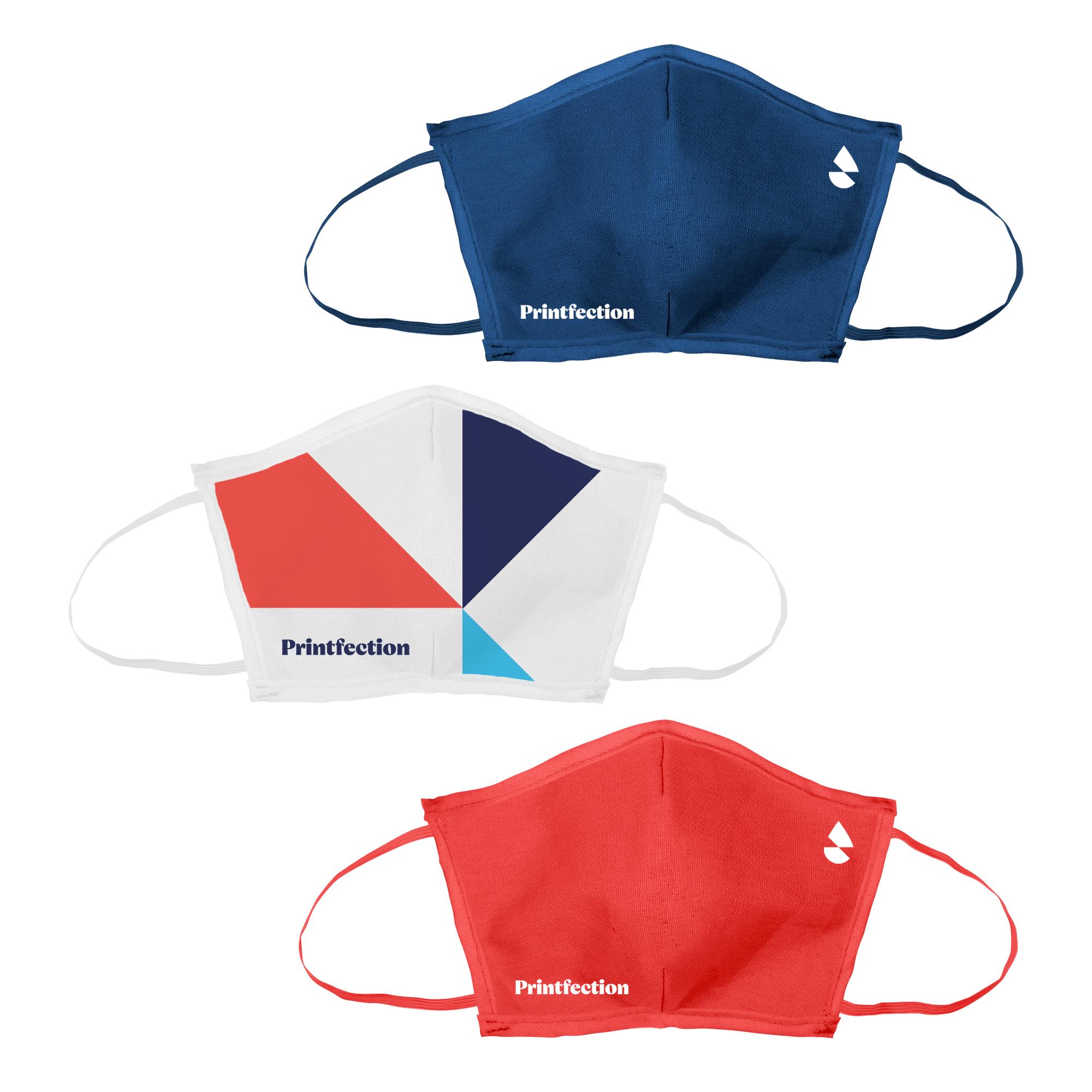 flat fold custom face mask